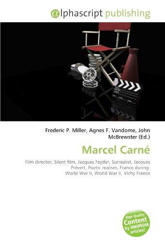 Méfiez-vous du livre sur Marcel Carné édité par Alphascript Publishing