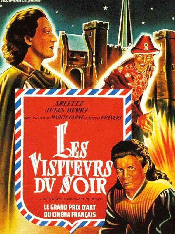 La ressortie des Visiteurs du Soir en copie restaurée à la Filmothèque du Quartier Latin (+ festival Carné-Prévert)