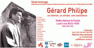 La soirée hommage à Gérard Philipe