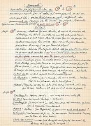 Le Manuscrit Original des Enfants du Paradis à la Cinémathèque