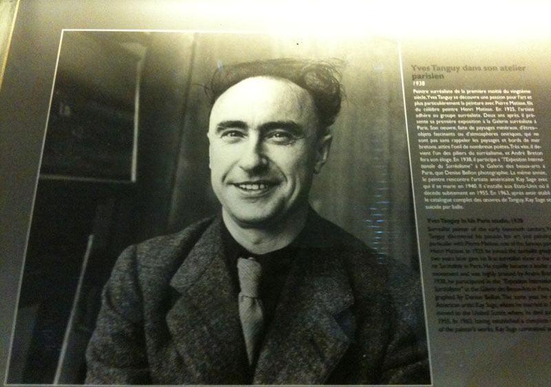 Yves Tanguy dans son atelier parisien  1938Yves Tanguy Portrait