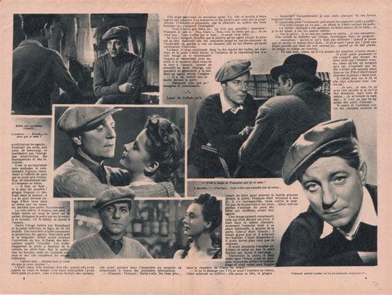 Le Scenario Romance Du Film Le Jour Se Leve De Marcel Carne Paru