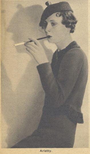 Arletty en 1935 D.R
